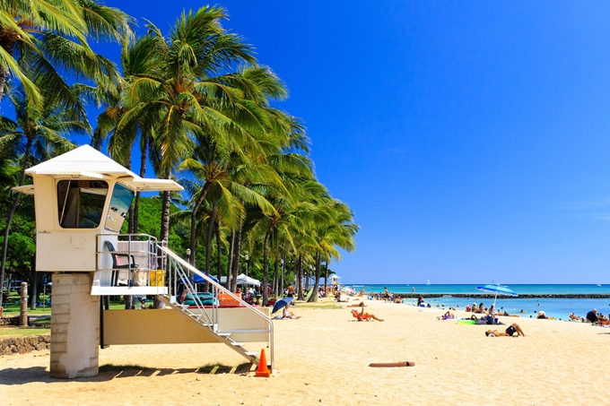 ハワイに行くのも1万円台の時代が到来
