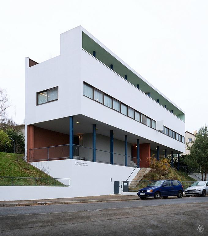 ヴァイセンホフ・ジードルングの住宅