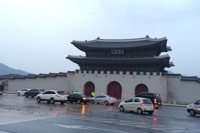 景福宮の門