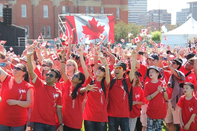 1位のカナダは建国150周年