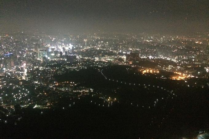 ソウルタワーから見る夜景
