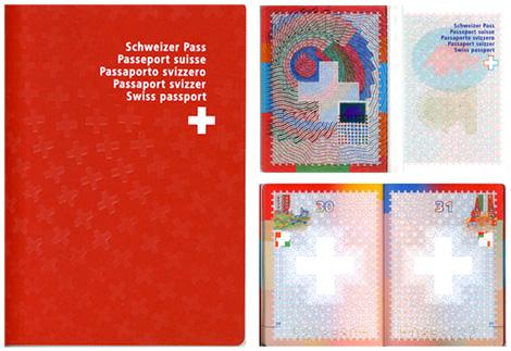 スイスのパスポート