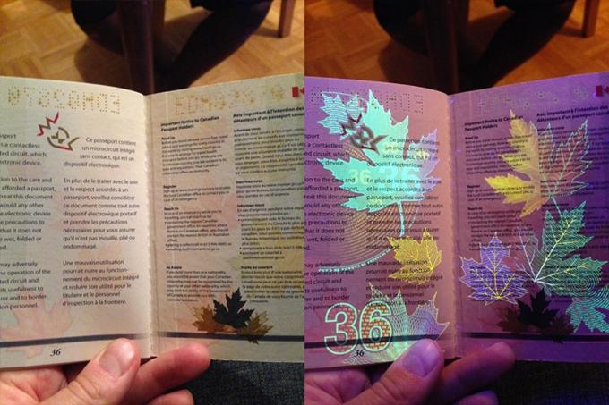 カナダのパスポート