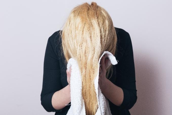 髪の毛がすぐ乾く