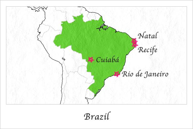 ブラジルで使ったお金