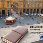 旅のあれこれを記入する TRAVELER'S notebook by MIDORI
